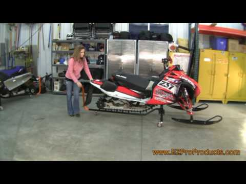 Ez Pro Products Sled Scoot Snowmobile Dolly Youtube