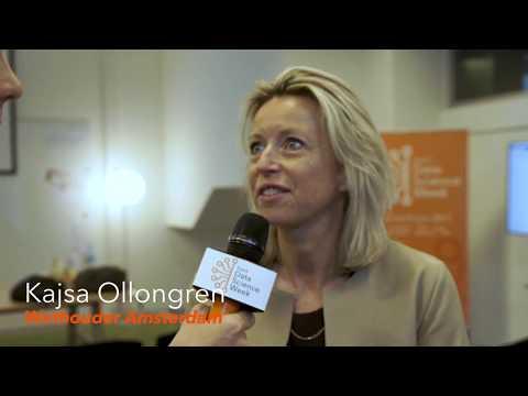 Interview met Kajsa Ollongren - Wethouder Amsterdam - Dutch Data Science Week