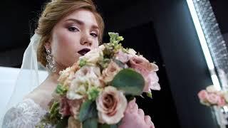 Свадебное платье . Свадебный букет от Наследник Выжанова.