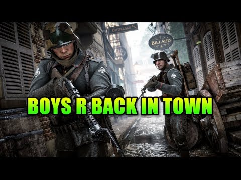 The Boys Are Back In Town | BF1 Squad Up