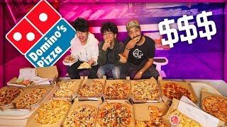 طلبنا المنيو كامل من دومينوز بيتزا !! ( شوفوا كم طلع الحساب ! )