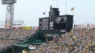 2012年9月22日 阪神vs中日戦にて金本知憲選手が代打で登場。 引退発表後...