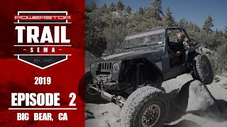 homepage tile video photo for Trail to SEMA 2019 - Episode 2: Big Bear CA Part-1