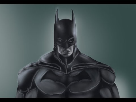 How To Draw Batman Face Youtube