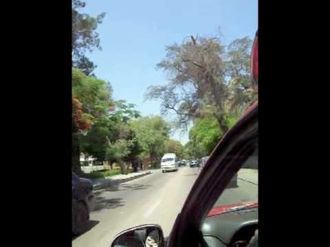 Cab Ride through Maadi, Cairo