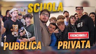 SCUOLA PUBBLICA vs. SCUOLA PRIVATA