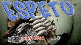 Как готовить сардины. РЕЦЕПТ - Espeto de sardinas - с субтитрами