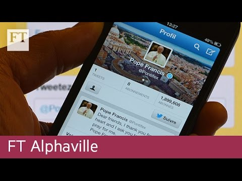 How the Vatican uses social media | FT Alphaville