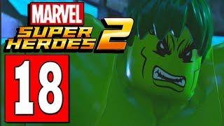 LEGO Marvels Super Heroes 2 Walkthrough Part 18 BACK TO LEMURIA / OYSTER LIGHTS PUZZLE SOLVED