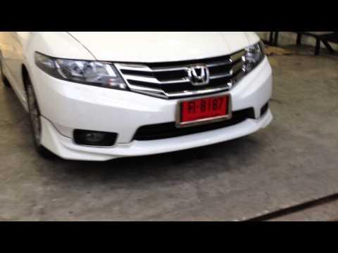 ชุดแต่งรอบคัน Honda New City 2012 Modulo by pmoption พระราม3