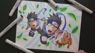 KONOHAMARU SARUTOBI! | Pain Ark Pt. 1 | ZainArtz | Speed Drawing |