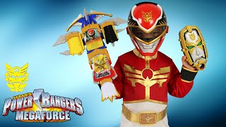 Power Rangers Megaforce Weapons Surprise Toys Gosei Morpher Dragon Sword Tiger Claw Ckn Toys