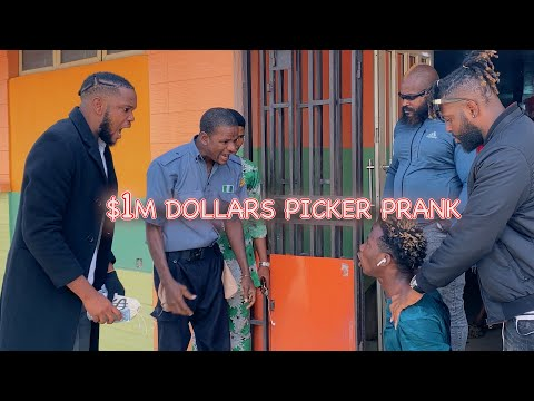 AFRICAN $1,00O,OOO DOLLAR PICKER PRANK