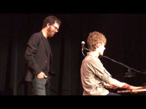 Ben Folds plays with local young man (Trevor Percario) - Rocky Mount, VA - The Harvester - 4.16.17