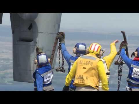 LHD Canberra, Osprey deck landing, Rimpac