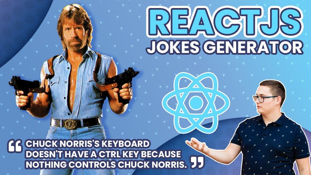 React JS Hooks Project - Jokes Generator