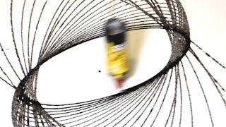 Oddly Satisfying Pendulum Swing Painting