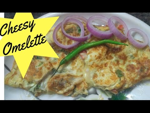 Cheese Omelet Recipe In Hindi