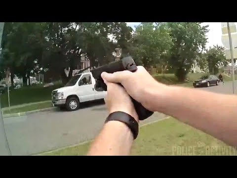 Bodycam Footage Shows Police Shootout in Dundalk, Maryland