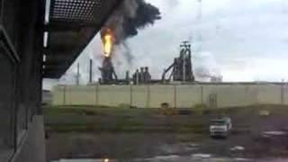 IJmuiden blast furnace blow-out