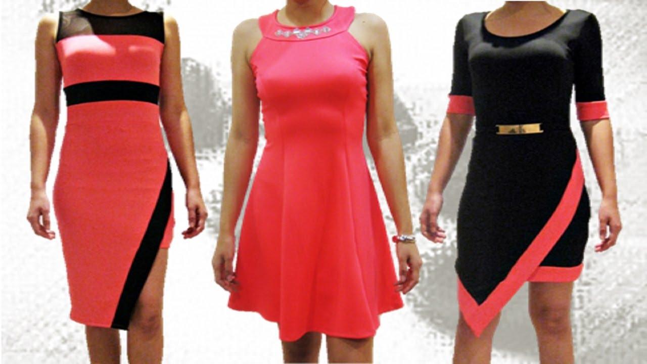 d2eeafc50 vestidos vestidos de moda vestidos casuales vestidos cortos vestidos de  graduacion - YouTube