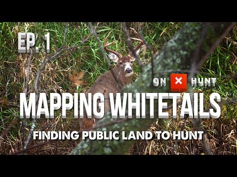 Part 1 - Mapping Public Land Whitetails | Finding Public Land To Hunt