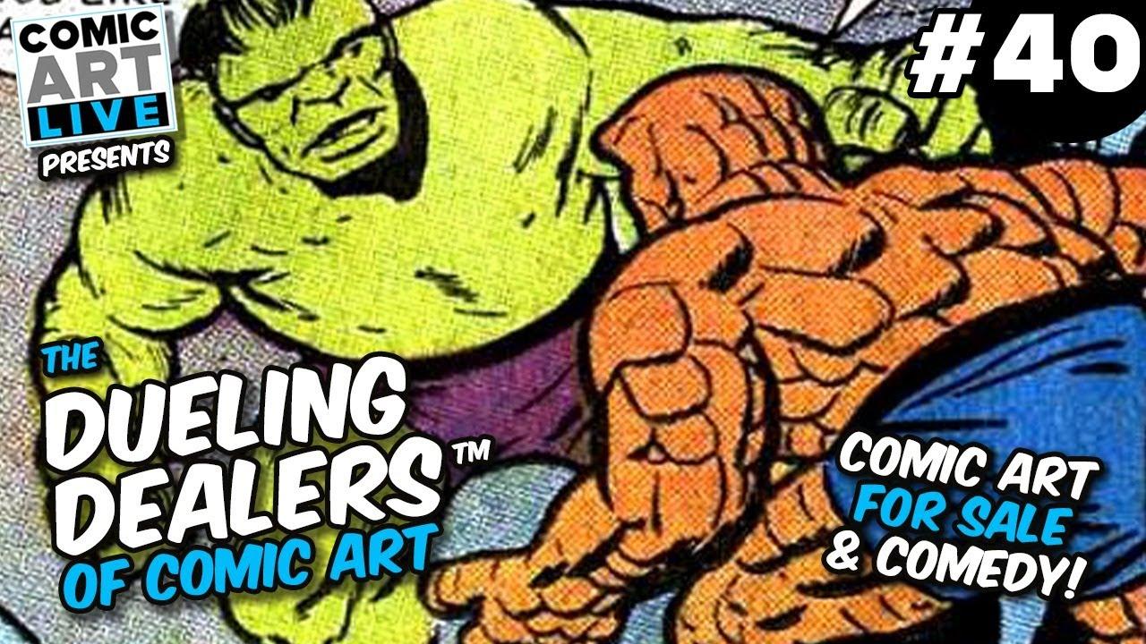Download The Dueling Dealers of Comic Art #40 - 100% Original Comic Art For Sale