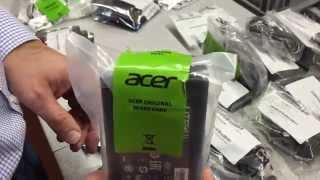 Original ACER Akkus - neue ACER Lieferung im Wareneingang - so sieht Originalware aus