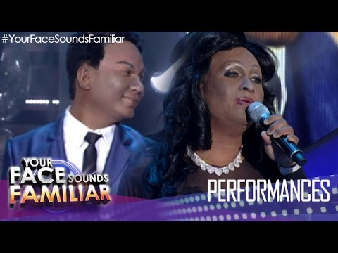 Your Face Sounds Familiar: Eric Nicolas as Nat King Cole and Natalie Cole -
