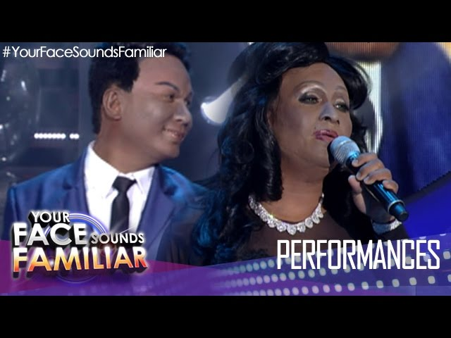 "Your Face Sounds Familiar: Eric Nicolas as Nat King Cole and Natalie Cole - ""Unforgettable"""