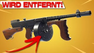 TROMMELGEWEHR is REMOVED! | Sound-absorbed Scar is coming! | Fortnite Patch 5.40