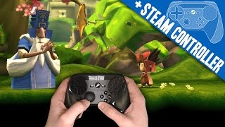 LostWinds 2: Winter of the Melodias + Steam Controller (Great w/ GYRO!) PC Gameplay