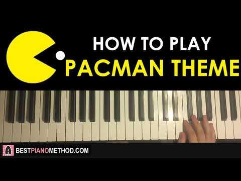 HOW TO PLAY - PacMan Original Theme (Piano Tutorial Lesson)