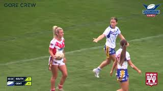 2017 Newcastle RL Ladies League Tag Grand Final Highlights - South Newcastle v Central Newcastle