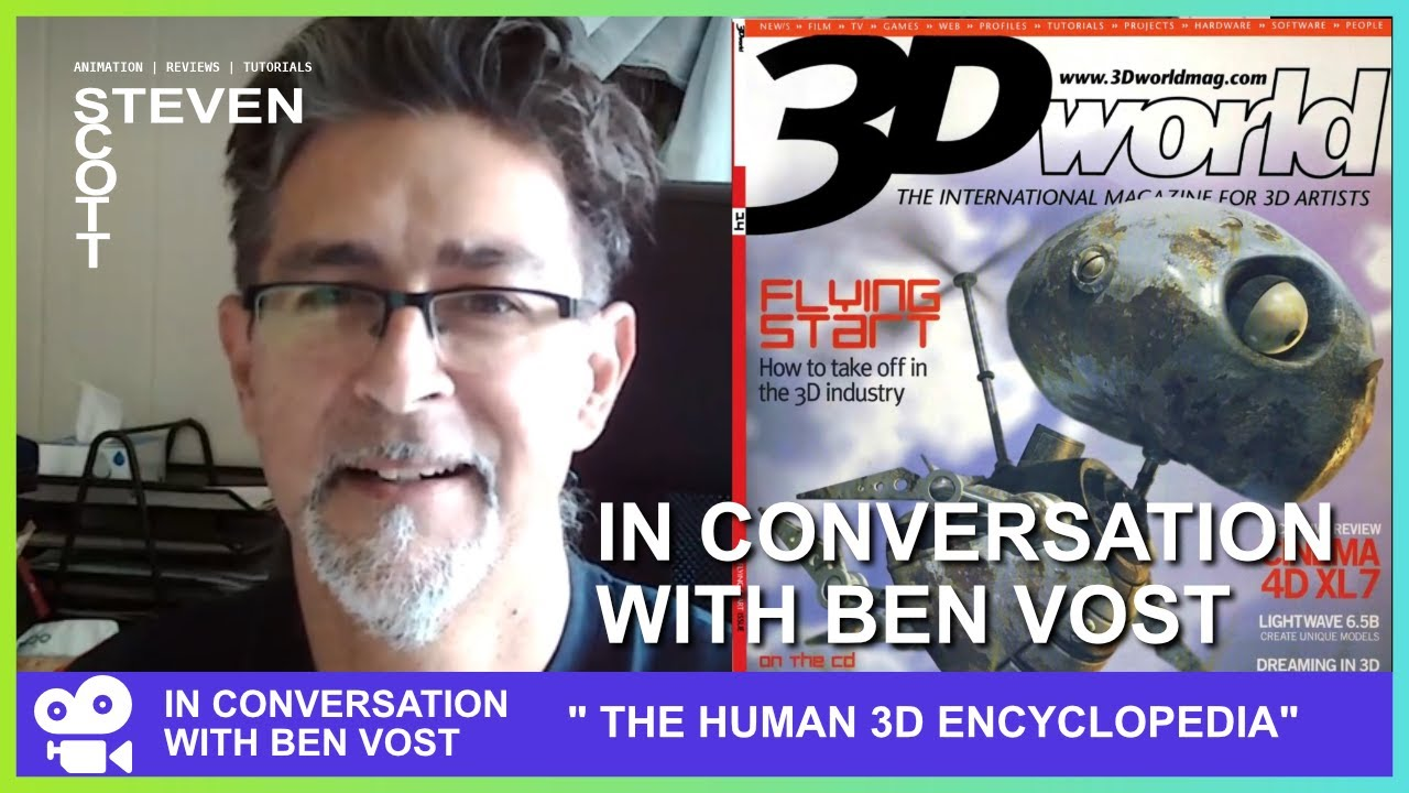 """Download In Conversation with Ben Vost  - Amiga Format and 3D World Editor """"The Human 3D Encyclopaedia"""""""