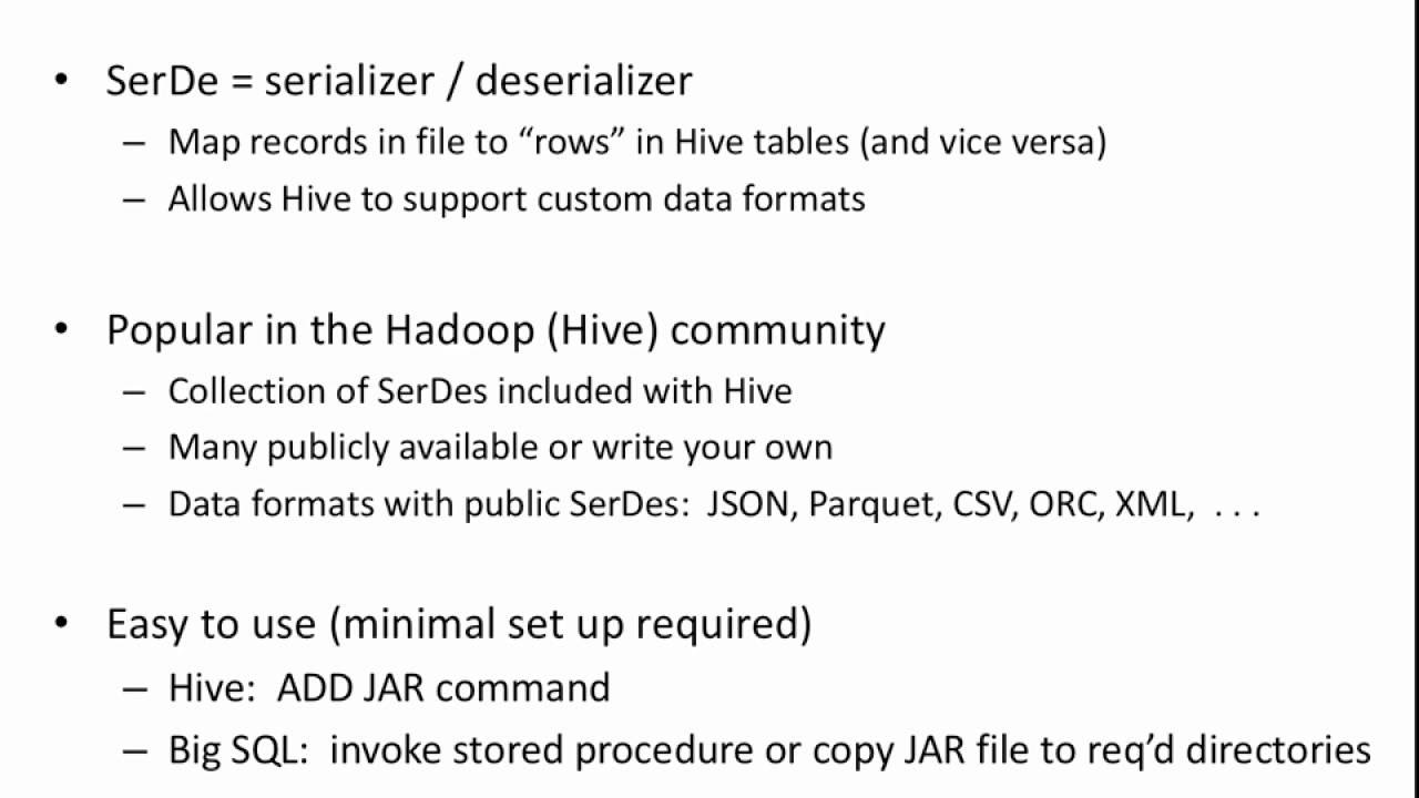 Using SerDes (Data-X Project)