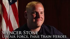 Spencer Stone, Hero of the 15:17 to Paris (Full Interview)