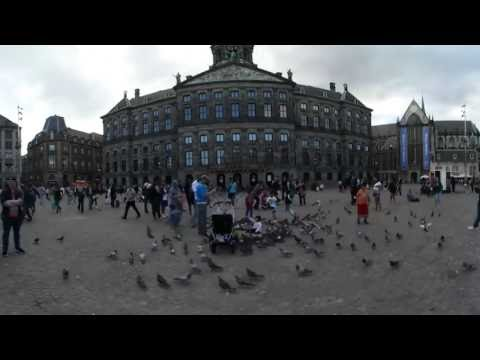 """Watch the capital city of Holland in 360° """"Amsterdam"""""""