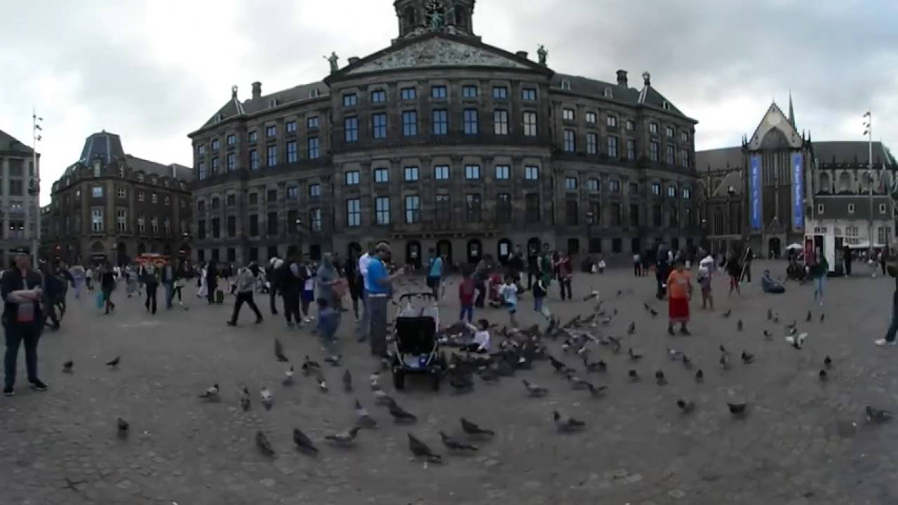 Watch the capital city of Holland in 360°