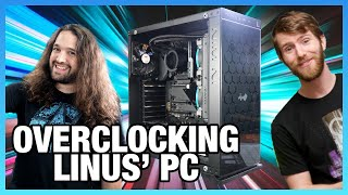 LIVE: Overclocking LinusTechTips' Computer (Post-Battle Show)