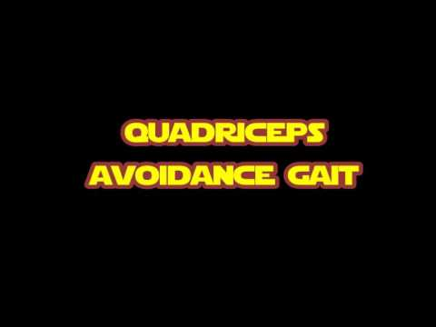 "quadriceps avoidance gait"" - uerm cares 2018 - youtube, Muscles"