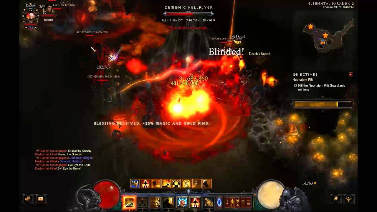 Diablo  Rabid Strike Build