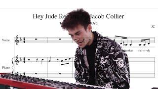 Jacob Collier reharmonizing Hey Jude