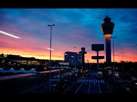 LIVE ATC ( Main Tower) Runway + Gate View | EHAM (Schiphol, Amsterdam) | Rainy day
