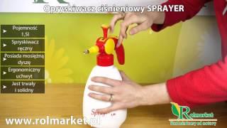 Opryskiwacz ciśnieniowy SPRAYER  SX-577D-15 1,5 L. Czym robić opryski w domu? | Rolmarket.pl