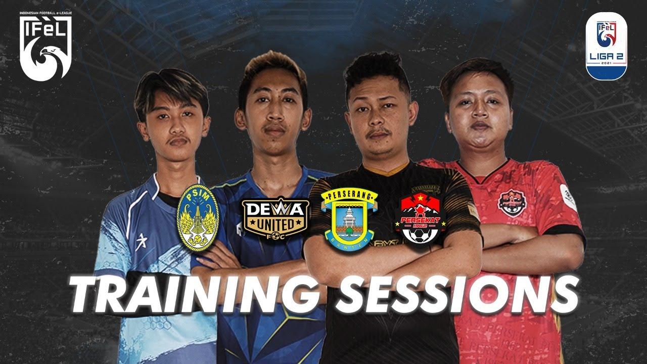 Indonesian Football e-League Training Sessions EP. 13