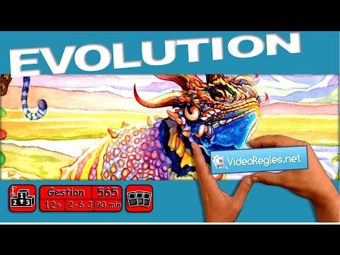 """Vidéorègle jeu de société """" Evolution """" par Yahndrev (#565)"""