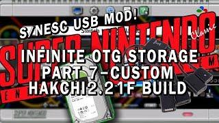 SNES Classic USB mod | Part 7 - hakchi2 on the USB drive | hakchi2_USB_EDITION!