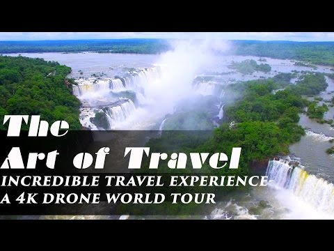 The Art of Travel- Best 4k drone views of Italy Brazil Peru Argentina Dominican and US