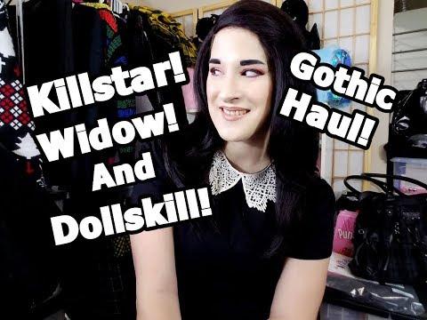 Massive Gothic Killstar Widow And Dollskill Try On Haul!